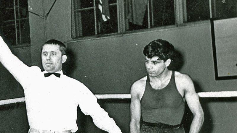 История бокса области