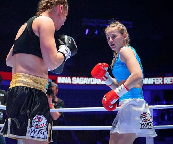 Инна Сагайдаковская из Усть-Илимска стала чемпионкой мира по боксу по версии WBC
