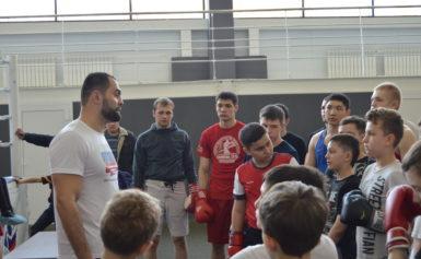 Мастер-класс от олимпийского чемпиона Рахима Чахкиева