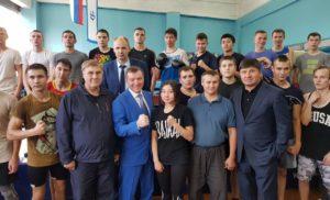 Исполнительный директор Дирекции Федерации бокса России в СФО в Иркутске
