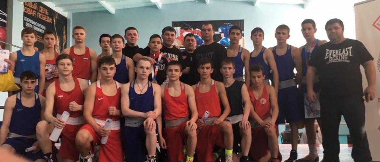 Первенство СФО по боксу среди юношей 15-16 лет