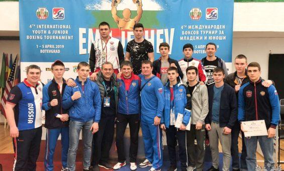 Международный турнир по боксу в Болгарии