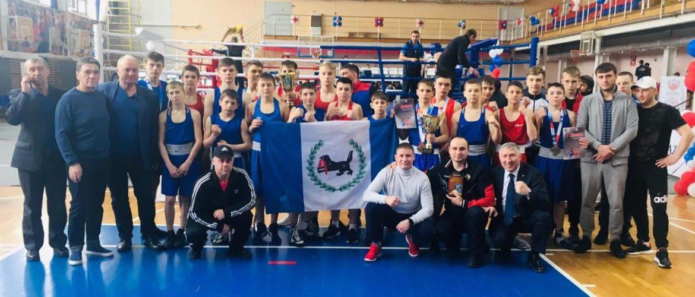 Первенство СФО по боксу среди юношей 13-14 лет