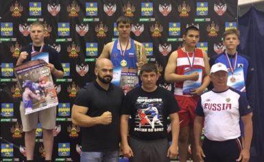 Первенство России по боксу среди юношей 13-14 лет