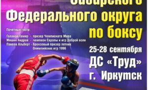 Чемпионат СФО по боксу среди мужчин