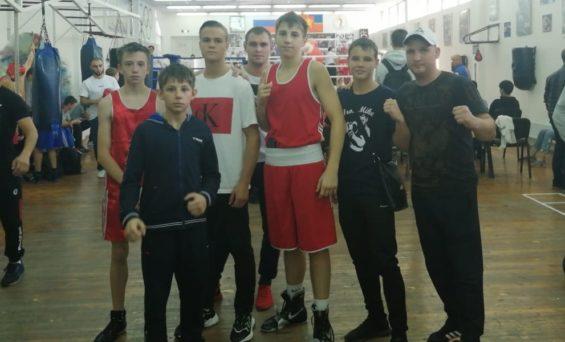 Открытое первенство Красноярска по боксу
