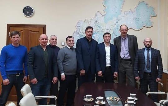 Визит Олимпийского чемпиона в Иркутск