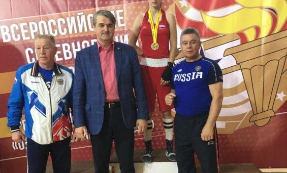 Всероссийские соревнования по боксу среди юниорок и девушек