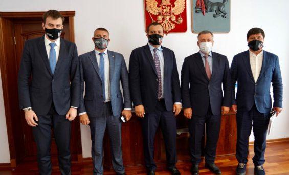 Генеральный секретарь Федерации бокса России в Иркутске
