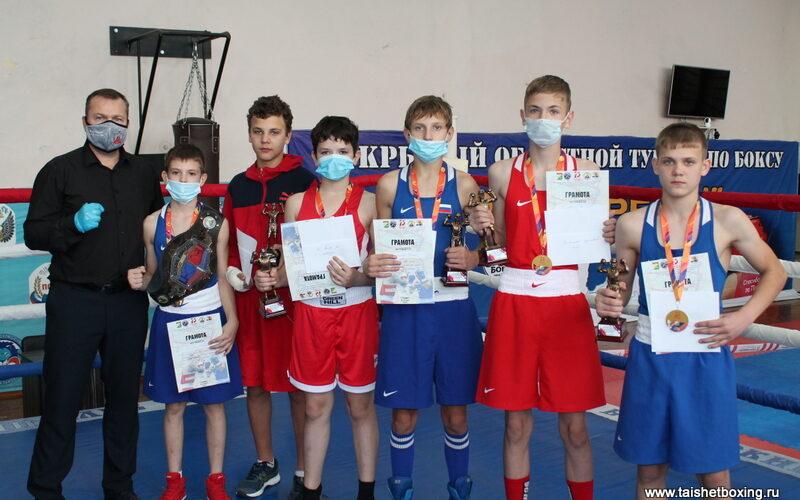 Турнир по боксу «Кубок Победы» в Тайшете