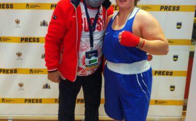 Татьяна Богданова стала серебряным призёром первенства Европы по боксу среди юниорок