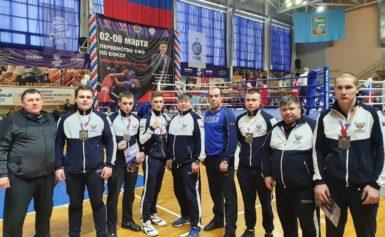 Первенство СФО по боксу среди юниоров 17-18 лет