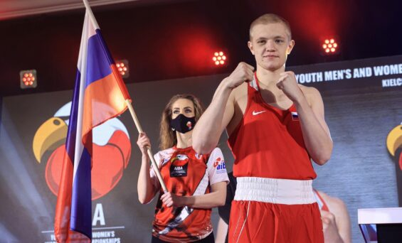 Василий Каверин — победитель Первенства мира по боксу!