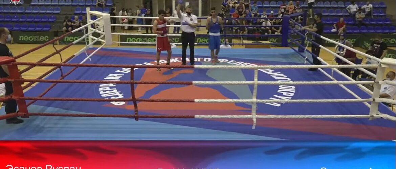 Первенство России по боксу 2021 среди юношей 13-14 лет