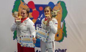 Татьяна Богданова и Юлия Старченко — победительницы Первенства Европы по боксу!